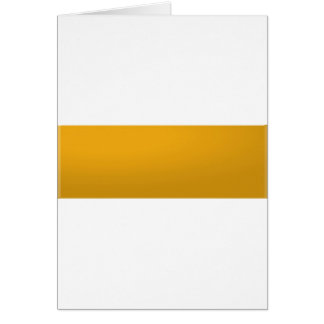 Gold Blank TEMPLATE : Add text, image, fill color Greeting Card