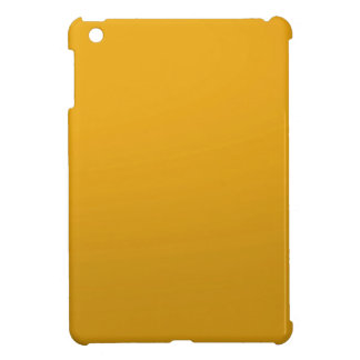 Gold Blank TEMPLATE Add text image fill color iPad Mini Cover