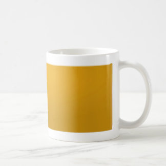 Gold Blank TEMPLATE : Add text, image, fill color Coffee Mug