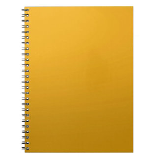 Gold Blank TEMPLATE Add text image fill color Spiral Notebooks