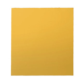 Gold Blank TEMPLATE Add text image fill color Note Pad