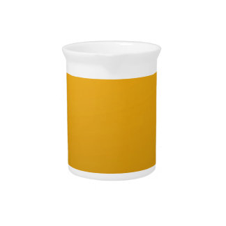 Gold Blank TEMPLATE Add text image fill color Drink Pitchers