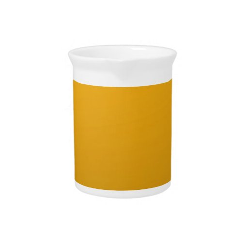 Gold Blank TEMPLATE : Add text, image, fill color Drink Pitchers
