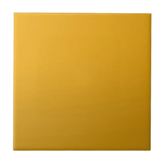 Gold Blank TEMPLATE : Add text, image, fill color Small Square Tile