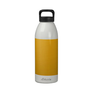 Gold Blank TEMPLATE Add text image fill color Reusable Water Bottles