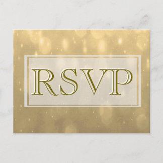 Gold Bokeh | RSVP