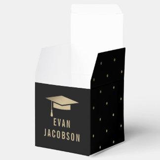 Gold Cap EDITABLE COLOR Graduation Party Favour Wedding Favour Boxes