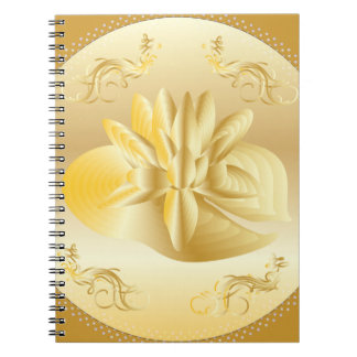GOLD CELEBRATION ANNIVERSARY PHOTO NOTEBOOK