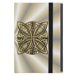 Gold Celtic Knot Original Design iPad Mini Cover