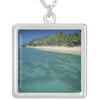 Gold Coast, Fiji Silver Plated Necklace