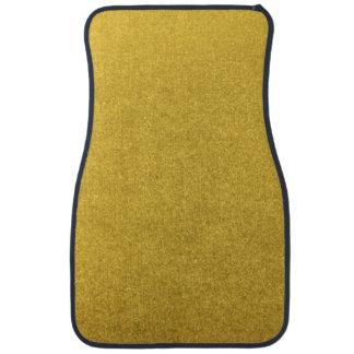 GOLD DUST (a precious metal color) ~ Car Mat