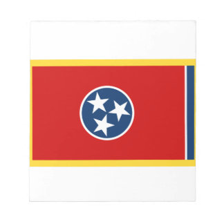 Gold Edge Tennessee Flag Notepad