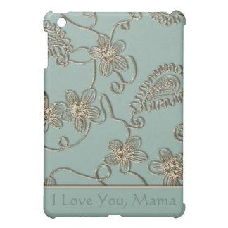 Gold Flourish Mother's Day iPad Mini Covers