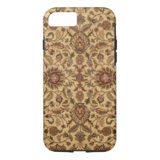Gold Flowers Arabesque oriental tapastery iPhone 8/7 Case