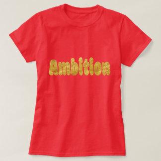 Gold Foil Bubbly Text T-Shirt