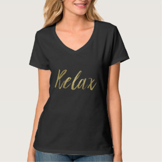 Gold Foil Relax Tshirts