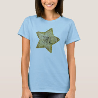 Gold Glam Star T-Shirt