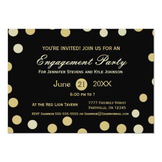 Gold Glitter Confetti  Engagement