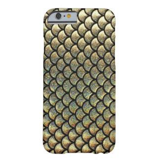 Gold glitter fish scale iPhone 6 case