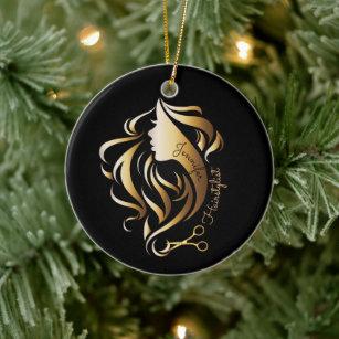 Scissors Christmas Tree Decorations