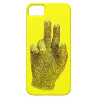 Gold hand case iPhone 5 cases