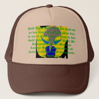 Gold_Hawk_by_eagle_of_shadows, Gold Eagle Hero ... Trucker Hat