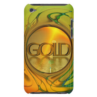 Gold is my world barely there iPod covers