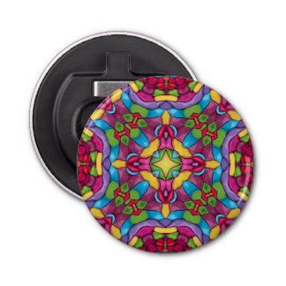 Gold Miner Kaleidoscope   Magnetic Bottle Openers