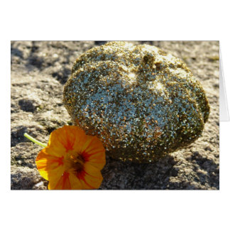 Gold Pumpkin Thanksgiving Card
