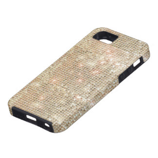 Gold Sequins iPhone 5 Tough Case iPhone 5 Cover