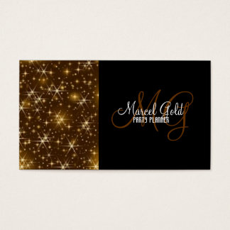 Gold sparkle events and party planner