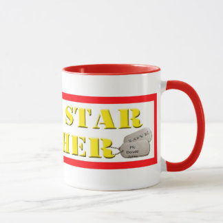 Gold Star Mother Coffee Cup