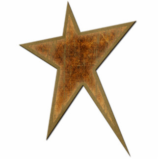 Gold Star Acrylic Cut Out