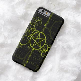 Gold Witch Pentagram iPhone 6 Case