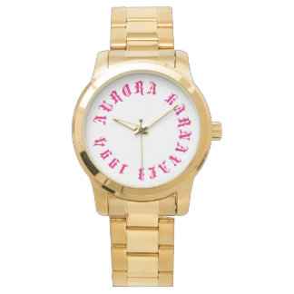 Gold Womens Aurora Karnavali 1994 Watch