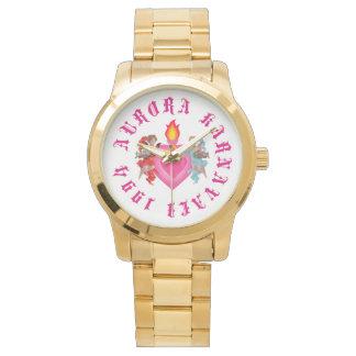 Gold Womens Aurora Karnavali Watch
