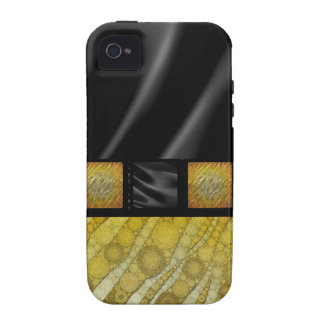 Gold Zebra Silk Case For The iPhone 4