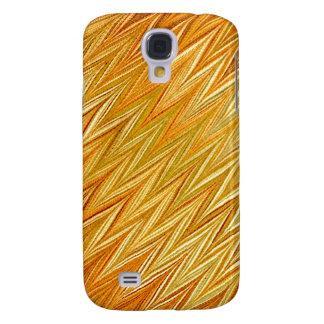Gold Zigzag Samsung Galaxy S4 Case