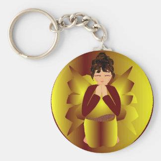 Golden Angel Key Chains