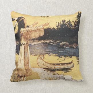 Golden Arrow Song Cushion