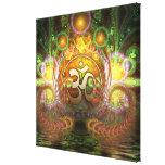 Golden Aum Dreams Canvas Canvas Print