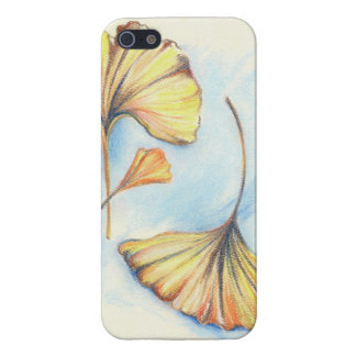 Golden Autumn Ginkgo Leaves iPhone 5 Cover