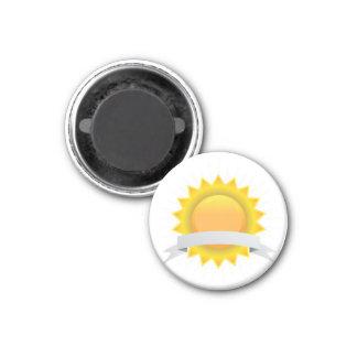 Golden Award Seal Badge 3 Cm Round Magnet