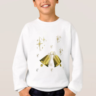 Golden bells and stars sweatshirt