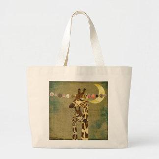 Golden Bronze Giraffes  Motherly Love Bag