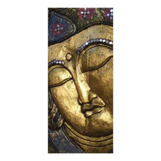 Golden Buddha Blessing Inspirational Rack Cards