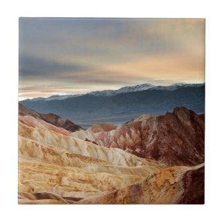 Golden Canyon at Sunset Tile