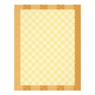 Golden Checks  : Dream Love Letter LoveLett Personalized Letterhead
