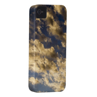 Golden Clouds in Sky iPhone Case Case-Mate iPhone 4 Cases