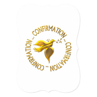 Golden Confirmation and Holy Spirit Card